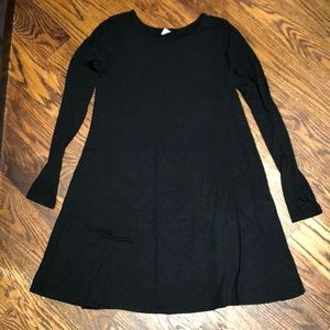 Black long sleeve Old Navy dress